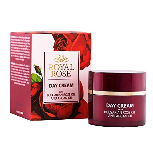 BioFresh Royal Rose Tagescreme mit Arganöl & Rosenöl & Rosmarin & Jojobaöl / Day Cream with Rose Oil, Argan Oil, Rosemarinus Extract, Panthenol and Jojoba oil - 50ml