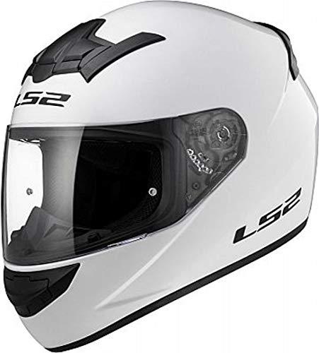 LS2Motorradhelm XXL Bianco