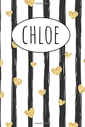 Chloe: Gift present Homework Book Notepad Notebook Composition and Journal Gratitude Dot Diary