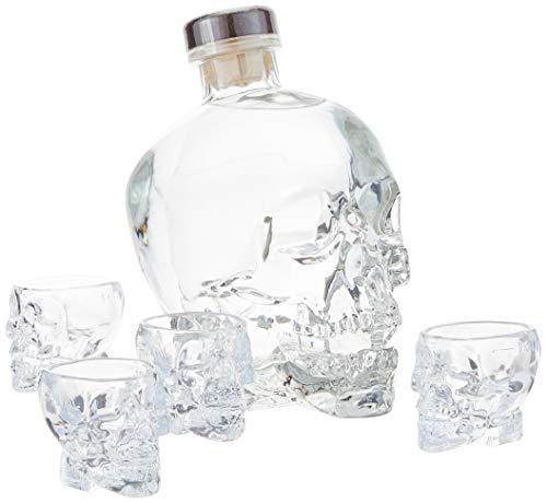Crystal Head Vodka 40% Vol. 0,7l in Geschenkbox mit 4 Shotgläsern