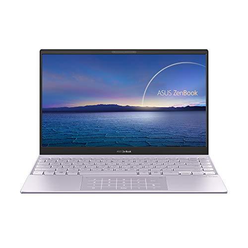 """ASUS ZenBook 13 UX325EA-EG248 - Ordenador Portátil de .3"""" Full HD (Intel Core i5-1135G7, 8GB RAM, 512GB SSD, Intel Iris Xe Graphics, Sin Sistema Operativo) Lila Neblina-Teclado QWERTY español"""