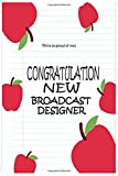 Work / New Broadcast Designer: This journal is perfect for : Creative Writing, Journaling, Recipes, List making, Appointment Keeping, Taking Notes at ... you need to keep track of or remember.