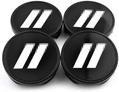Emblema de tapas centrales de rueda de coche de 4 piezas,tapas centrales...
