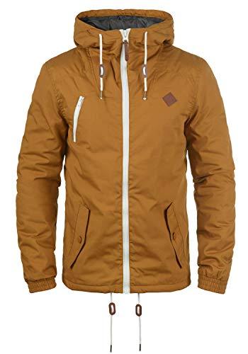!Solid Tilden Herren Übergangsjacke Herrenjacke Jacke gefüttert mit Kapuze, Größe:M, Farbe:Cinnamon (5056)