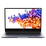 HONOR MagicBook 14 2021 PC Portable, 14 pouces 1080p FHD (Intel 11ème génération Core i7 i7-1165G7, Wi-Fi 6, RAM 16 Go, SSD 512 Go, Windows 10 Home, Clavier Français AZERTY) - Space Grey