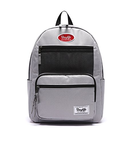 [デーライフ] Daylife Layer Plus Backpack 2019 NEW レイヤープラス メッシュ リュック バックパック 6色 [並行輸入品] (グレー)