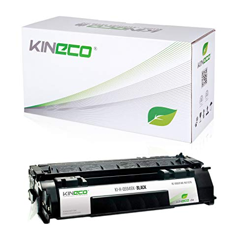 Kineco Toner kompatibel zu HP Q5949X Laserjet 1320, 3390, 3392, 1320NW - 49X - Schwarz 6.000 Seiten