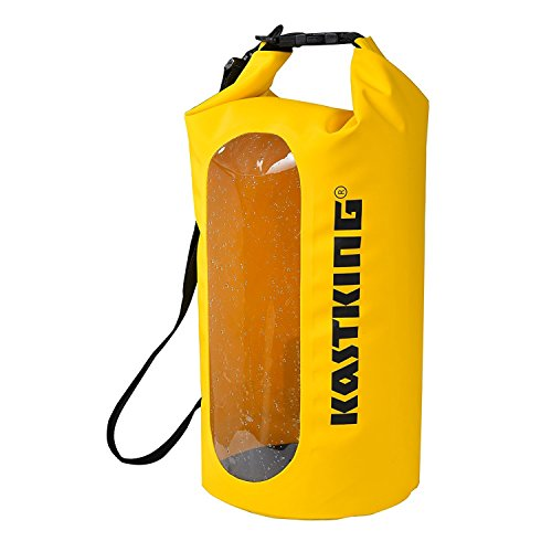 KastKing Floating Waterproof Dry Bag, Yellow, 30L