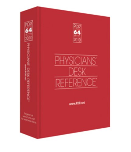 PDR: Physicians Desk Reference 2010 (Physicians' Desk Reference (Pdr))