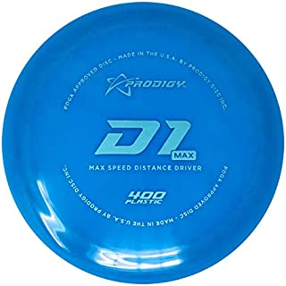 Prodigy Disc 400 Series D1 Max Distance Driver Golf Disc [Colors May Vary]