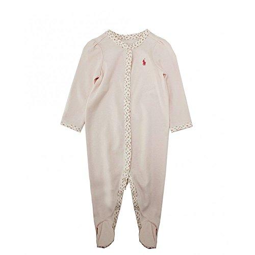 Ralph Lauren Polo Tutina Rosa per neonata con Rose - 6 M, Rosa