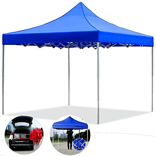 outdoor Gazebo 3x3m Seasons Folding Pop-Up Canopy Tent Portable Height Adjustable Aluminum Heavy Duty, Fully Waterproof Anti-Uv