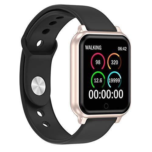 Rabusion Electronics For T70 Smart Watch Men Women Bracelet Heart Rate Blood Pressure Monitoring Fitness Tracker Sports Smartwatch Gold