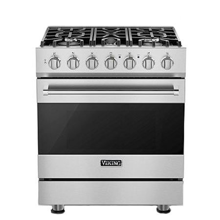 Viking RVGR3305BSS 30' Freestanding Gas Range 3 Series