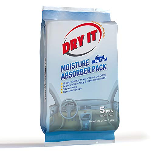 Buy Dry It Activated Charcoal Car Deodorizer & Odor Eliminator - Moisture Absorber & Vehicle Interio...