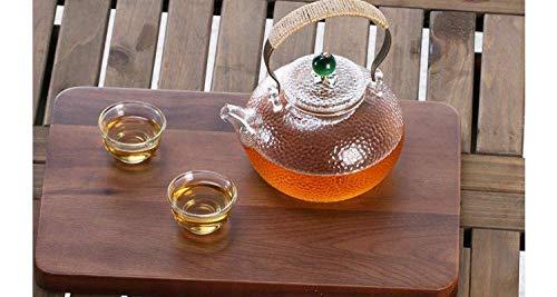 WMYATING Hervidor, Juego de té de cerámica, hervidor de Ace Tetera con colador Alta Temperatura Resistente al hervidor de Vidrio Hermano de Alta Temperatura Hervidor de Vidrio Hermoso Tetera Tetera