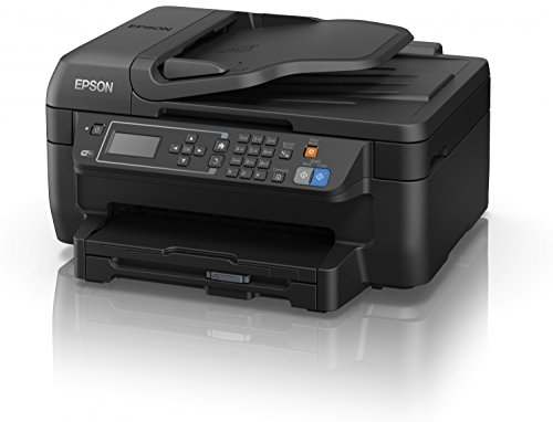 Epson WorkForce WF-2750DWF - Impresora multifunción 4 en 1 (WiFi, inyección de tinta), color negro