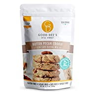 Good Dee's Butter Pecan Cookie Mix – Low carb, Keto friendly, Sugar Free, Gluten free, Grain Free, Atkins friendly, Diabetic friendly, WW Friendly, 1g net carbs , 12 servings