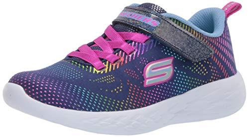 Skechers Go Run 600 Shimmer Speeder - Zapatillas Deportivas para niños, Color, Talla 35 EU