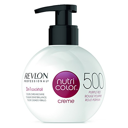 REVLON PROFESSIONAL Nutri Color Creme ,Nr. 500 Purple Red, 1er Pack (1 x 270 ml)
