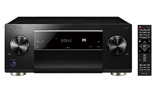 Pioneer 9.2 AV Receiver, SC-LX701, 185 Watt/Kanal, Class-D-Verstärker, 4K UltraHD Durchleitung, Dolby Atmos, DTS:X, WLAN, Bluetooth, Hi-Res Streaming, Musik Apps, Internet Radio, Multiroom, Schwarz