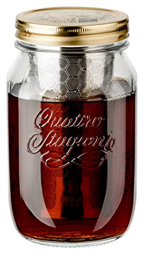 dripdrip Brewjar Cold Brew Jar - Cafetera profesional para café frío -...