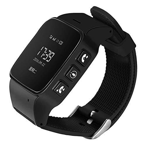 Relojes Inteligentes LJR D99 0,96 Pulgadas Smartwatch Smartwatch para el Anciano IP54 Impermeable, Soporte GPS + LBS + Posicionamiento WiFi/Marcación de Dos vías/Monitoreo de Voz/One-Key First
