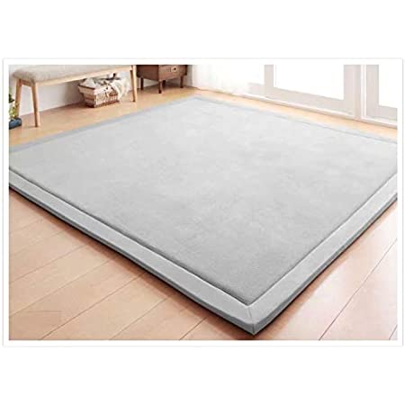 Play mat for kids RSquare rug Square mat for game Baby room mat Square play mat