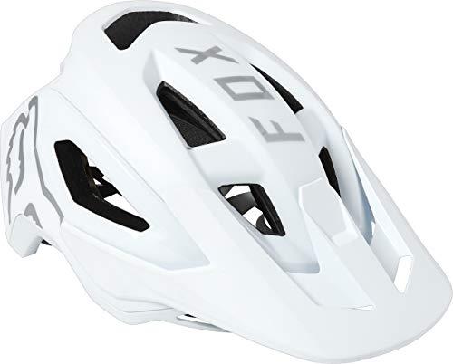 FOX Speedframe Pro Helm Herren White Kopfumfang S | 51-55cm 2021 Fahrradhelm