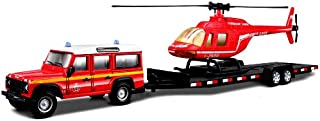 Bburago Emergency Force Vehicle Trailer 1:50 - 3 Years And Above, For 3 Years & Above