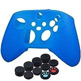 YoRHa Silikon-Schutzhülle für Xbox-Serie X/S Controller, Blau, 10 Stück