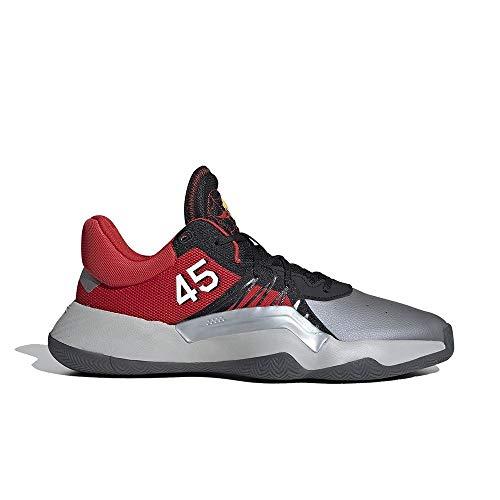 """Adidas - Scarpa da basket D.O.N. Issue 1""""MLK Day"""", da uomo, colore: Rosso, (multicolore), 46 2/3 EU"""