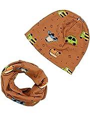 iZiv Cappello Berretto Cute Baby Sciarpa del Cotone dei Bambini Sciarpa per Bambino 0-3 anni