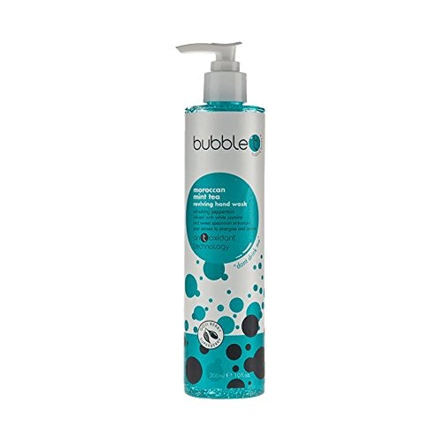 ヒップ発表する吸収するBubble T Hand Wash Morrocan Mint 300ml (Pack of 6) - バブルトン手洗いモロッコミント300ミリリットル (x6) [並行輸入品]