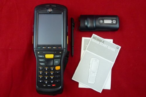 Read About Motorola MC9500 Handheld Computer - MC9500-K Wireless Rugged / Intel Xscale 806 MHz / 256...