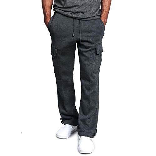 Desconocido Pantalones de chándal | Slim Fit | Pantalones de deporte para hombre | Pantalones de entrenamiento | Pantalones de chándal