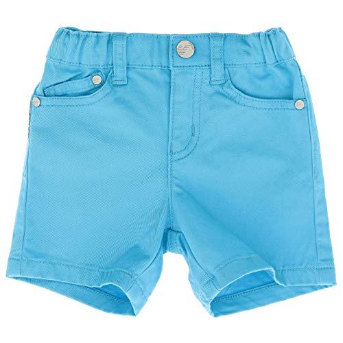 Emporio Armani Luxury Fashion Baby-Boys Pants Summer Light Blue
