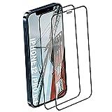 """Panzerglas Schutzfolie für iPhone 12 / Pro [6.1""""], [2 Stück] Hohe Qualität 9H Glas - Face ID Compatible - HD Clear - Kratzfest - Displayschutzfolie für iPhone 12 / Pro"""