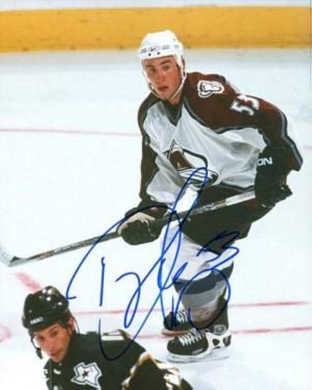 Signed Derek Morris Photo  8x10  Autographed NHL Photos