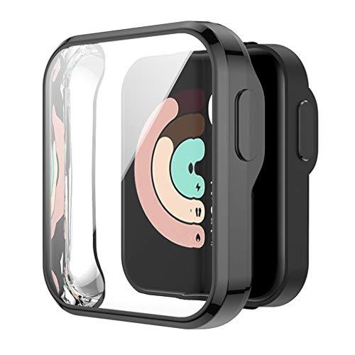 LEXIANG Protector de la Cubierta Protectora de la Pantalla de la Caja del Reloj de TPU antiarañazos para -Xiaomi Mi Watch Lite Redmi Watch Accesorios de Reloj Inteligente