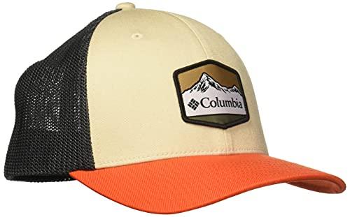 Columbia Damen Mesh Ballcap Cap, Antiker Fossil/Hai/roter Quarz, X-Large