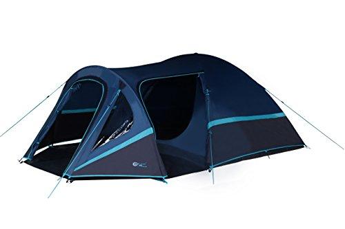 Portal Outdoor Unisex's Avia 4 Tent, Blue/Black, One Size
