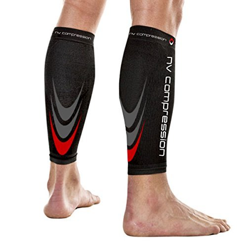 NV 365 de compresión Calf Guards/mangas par 20 – 30 mmHg – para