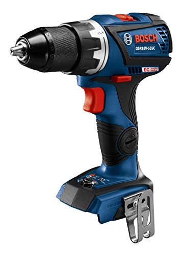 BOSCH GXL18V-238B25 18V 2-Tool Combo Kit with Connected-Ready 1/4 In. Hex Impact Driver, Connected-Ready Compact Tough 1/2 In. Drill/Driver and (2) CORE18V 4.0 Ah Batteries