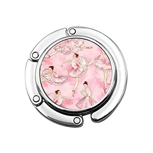 SHIZI Bolsa de almacenamiento para bolso de ballet rosa con gancho para mujer y niñas, 1 unidad