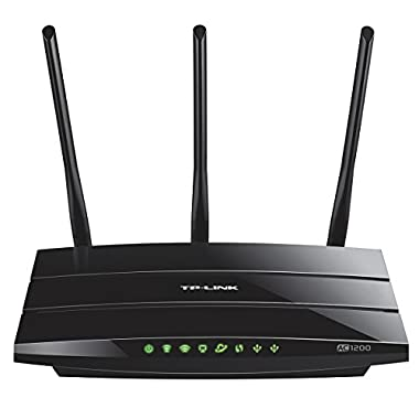 TP-Link AC1200 Smart WiFi Router - 5GHz Dual Band Gigabit Wireless Internet Routers for Home(Archer C1200)