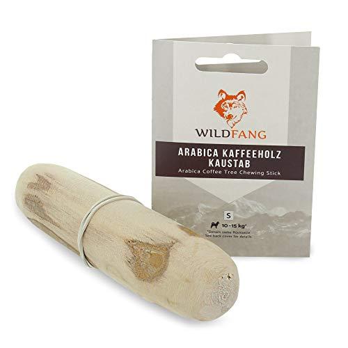 Wildfang® Kauwurzel aus Kaffeeholz für Ihren Vierbeiner I Hundespielzeug Holzknochen - Kauspielzeug - Zahnpflege & Kaumuskel Training I natürlicher Kaustab für Ihren Hund (S - für Hunde bis 15 kg)