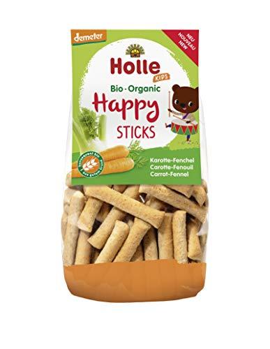 Holle Palitos Espelta Con Zanahoria E Hinojo (+ 3 Años) 100 g - Pack de 6