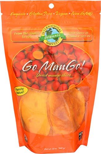 International Harvest, Organic Mango Slices, 12 Ounce