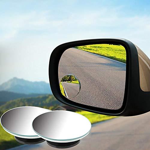 2 Teile/Satz Auto Rückspiegel für Auto Fahrzeug Seite Blindspot Blind Spot Konvexen Spiegel 360 Weitwinkel Kleine Runde mit 3 Mt Band